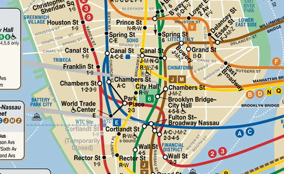 Nyc Subway Map August 2013.Cropping A Nyc Subway Map The Cleverest